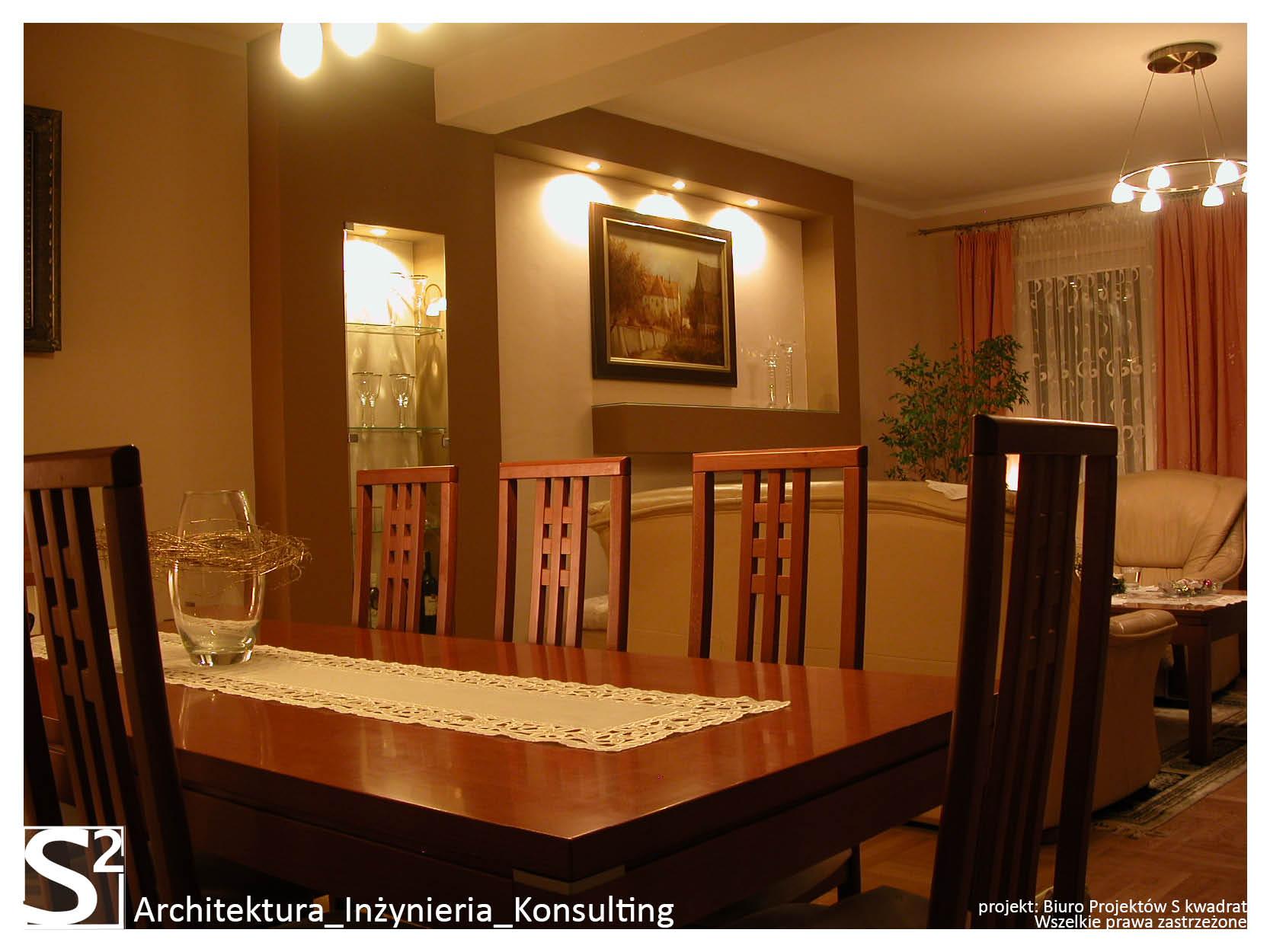 Salon w domu jednorodzinnym w Czeladzi