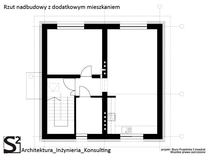 Nadbudowa domu w Mysłowicach
