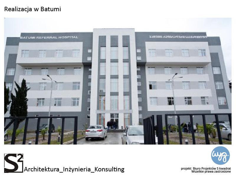 Szpital w Batumi w Gruzji