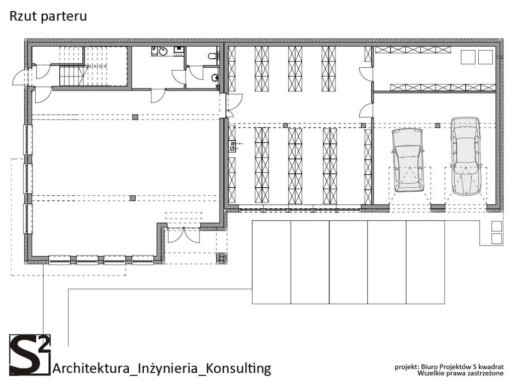Budynek mieszkalno usługowy Mysłowice