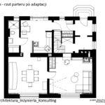 Przebudowa parteru domu jednorodzinnego w Jaworznie